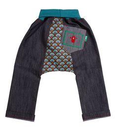 Ammonite Classic Jean, Oishi-m Clothing for Kids, Autumn 2019, www.oishi-m.com