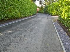 Metal Lawn Edging, Steel Edging, Long Driveways, Modern Design, Sidewalk, Image, Contemporary Design, Side Walkway, Walkway