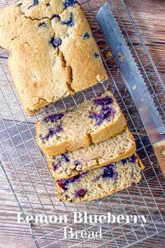The combination of flavors is so tasty, you are going to love it. This vegan lemon blueberry bread recipe is so tasty it's one of my favorite breads.  The lemon and blueberry flavors complement each other perfectly which makes this bread a great addition to any breakfast table. #bread #lemonbread #blueberrybread @dishesdelish | dishesdelish.com