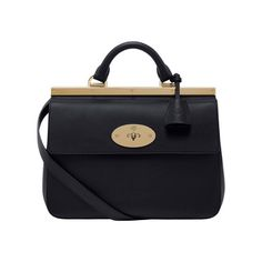 Mulberry Gift Kaleidoscope | Black - Small Suffolk in Black Classic Calf
