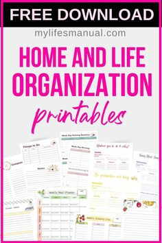 Free Planner Pages Printables Free Planner Pages, Printable Planner Pages, Printables, Goals Planner, Life Planner, Planner Ideas, Weekly Menu Planners, Personal Planners, Planner Organization