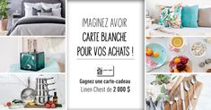 Linen Chest Cappuccino Machine Contest - Win Cappuccino Machine - Canada Giveaway and Sweepstakes Home Deco, Cash Gift Card, Canadian Contests, Welcome To My House, Studio Room, Picture Hangers, Shopping Spree, Home Hacks, Decoration