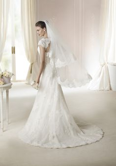 Style * JANINA * » Wedding Dresses » White One 2015 Collection » by San Patrick (back)
