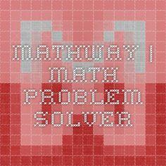 Mathway | Math Problem Solver