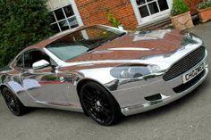 Chrome Aston Martin DBS