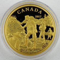 Canadian Coins, Gold And Silver Coins, Dollar Coin, Coin Collecting, Monet, Stamps, Canada, Military, Pure Products
