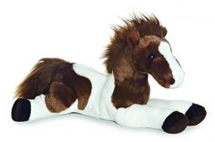 """Tola"" Horse Plush Stuffed Animal"