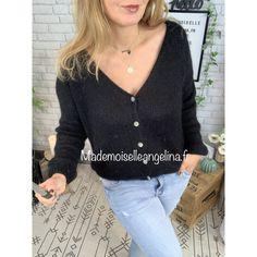 Gilet mohair Coachella, Gilet Mohair, Pret A Porter Feminin, Mademoiselle, Blouse, Long Sleeve, Sleeves, Tops, Women