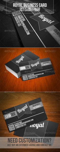 Royal Business Card