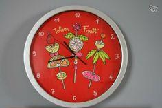 Horloge Totem Frutti