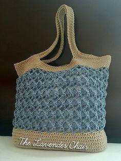 Ravelry: Sensu Fan Market Tote pattern by Dorianna Rivelli