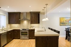 Remove a wall!   - Copperstone Kitchens
