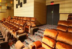 Luxurious seating for the silver screen industry
