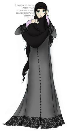 Niqab by ~finieramos on deviantART