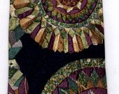 STRUCTURE Necktie Vintage 1980s Silk Italian Fabric