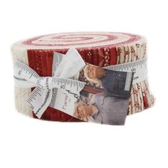 "Farmhouse Reds 2½"" Jelly Roll"