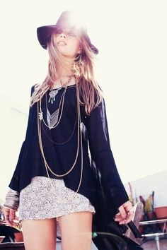 """KG """"Street Style"""" - awesome for Fall if you added tights and motorcycle boots"""