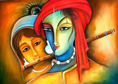 Paintings Famous, Modern Art Paintings, Ram Sita Image, Krishna Art, Radhe Krishna, Shree Krishna, Rangoli Ideas, Rangoli Designs, Lord Krishna Hd Wallpaper