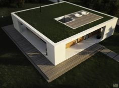 Patio House by Line Studio Case Moderne. Case Ieftine. www.iubis-group.com