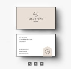 Creative Business card template by Emily's ART Boutique  on Creative Market