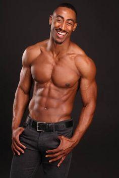 bare chested black men