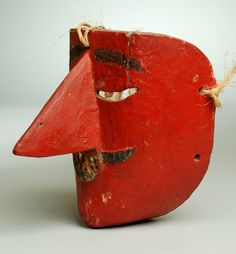 Early 20th century Mexican Moro mask.