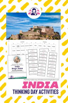 Discover More About India With These Activities and Games Girl Scout Leader, Girl Scout Troop, Fun Group Games, Fun Games, Activity Games, Activities, India For Kids, Girl Scout Juniors, India Facts