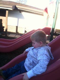 Zach sliding lol