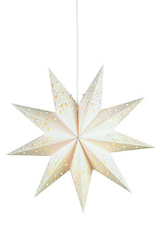 Classic hanging Swedish advent star for your window