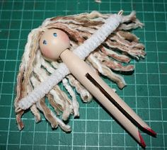 Morganised Chaos: HOW TO Make a Clothes Pin Doll    REDONE:  http://pintrestchallenge.blogspot.com/2013/01/clothes-pin-dress.html