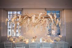Our famous high centerpiece design By Tantawan Bloom Floral Design and Event Decor New York