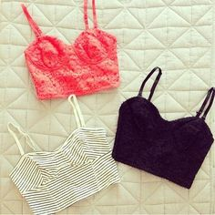 Crop tops. ♡ Number 1 motivation for exercising!!