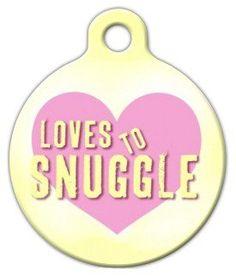 Dog Id Tags, Pet Tags, Snuggle Dog, Nerd Chic, Custom Dog Tags, Pet Id, Tag Art, Snuggles, Personalized Dog Tags