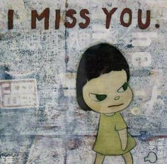 Yoshitomo Nara, Funky Art, Photo Dump, I Missed, I Miss You, Picture Wall, Twitter, Mickey Mouse, Artist