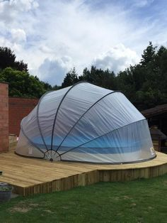 Gallery - The Swimming Pool Dome Swimming Pool Enclosures, Natural Swimming Ponds, Swimming Pools Backyard, Stock Pools, Stock Tank Pool, Jacuzzi, Shipping Container Swimming Pool, Pool Deck Plans, In Ground Pools