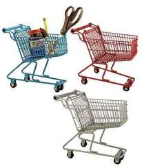 Hold It All Shopping Carts: Perfect for pens on the desk or lip gloss on the dresser! $11.99