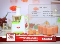 JR Slow Juicer #MoreMall #HomeShopping #Indonesia