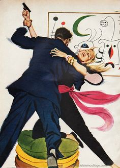 Vintage Varady illustration | Flickr - Photo Sharing! #vintage #illustration #1950s