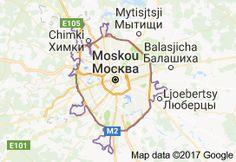moskou tourist map - Google zoeken