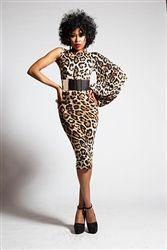 Reco Chapple - Yasmine One Sleeve Midi Dress