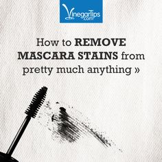 How to Remove Makeup stains.