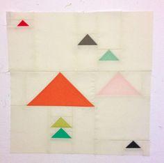 """Sew Paint Create:  18"""" square block"""