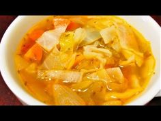 Lose 10 lbs in 1 week Cabbage Soup Diet Recipe.Used shredded cole slaw Cabbage Soup Recipes, Cabbage Soup Diet, Diet Soup Recipes, Cooking Recipes, Healthy Recipes, Chili Recipes, Easy Recipes, Lose 10 Lbs, Soup And Sandwich
