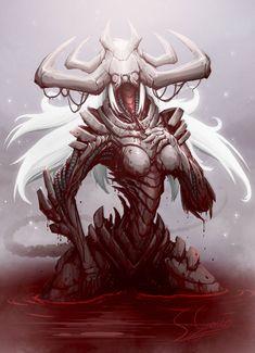 Lilith by Kookrite on DeviantArt Fantasy Character Design, Character Design Inspiration, Character Art, Monster Concept Art, Monster Art, Creature Concept Art, Creature Design, Fantasy Kunst, Dark Fantasy Art