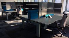 RTE a choisi l'I-Kube, poste de travail multi-écrans ergonomique pour sa nouvelle salle de supervision