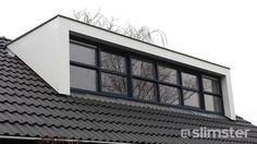 Afbeeldingsresultaat voor dakkapel modern hout
