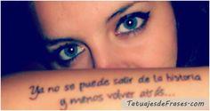 tatuajes de frases en español - Buscar con Google
