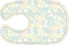small dreamfactory: Free sewing tutorial and pattern baby bib