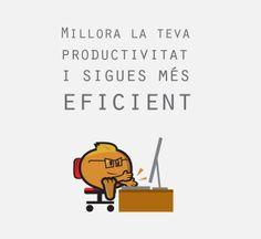 Millora la teva productivitat i sigues més eficient! Et donem alguns consells: http://bloc.avellanadigital.com/2014/05/13/millora-la-teva-productivitat-a-la-feina-i-sigues-mes-eficient/  #eficiencia #productivitat #motivat #treball #feina
