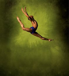 Alvin Ailey American Dance Theater's Clifton Brown. Photo by Andrew Eccles.
